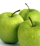 Apples. Green apples royalty free stock images