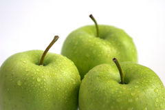 Apples. Green apples stock photography