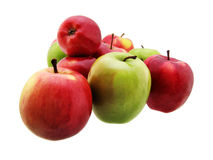 Apples. On white. See my other images of Royalty Free Stock Photography