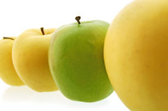 Apples. On white. See my other images of Royalty Free Stock Photo