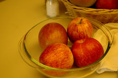 Apples. In bowl Royalty Free Stock Photography