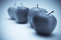 Apples. On the white background Royalty Free Stock Photo