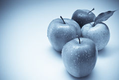 Apples. On the white background Stock Photography