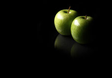 Apples all alone Royalty Free Stock Images