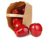 Free Apples And Paper Bag Royalty Free Stock Photo - 12209465