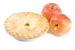 Apples and Apple Pie Royalty Free Stock Images