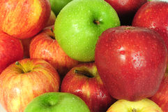 Apples. Background Royalty Free Stock Image