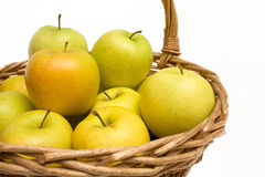 Apples In The Basket stock image