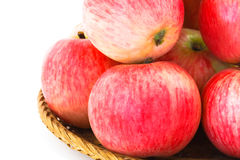 Apples in basket Stock Image