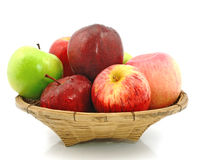 Apples in the basket Royalty Free Stock Images