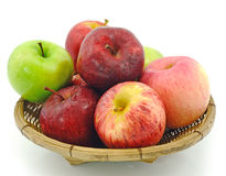 Apples in the basket Royalty Free Stock Photo