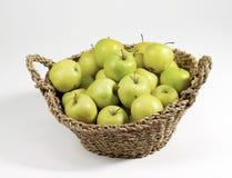Apples basket Stock Image