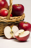 Apples basket Royalty Free Stock Photography
