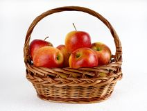 Apples in the basket Royalty Free Stock Image