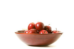 Apples in a bowl Stock Images