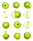 Apples collection Royalty Free Stock Images