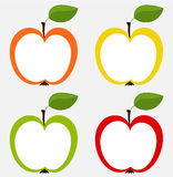 Apples collection Royalty Free Stock Photography