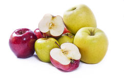 Apples compilation Royalty Free Stock Photography