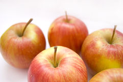 Apples conceptual image. Apples on isolated background Royalty Free Stock Photos