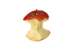 Apples core Royalty Free Stock Photos