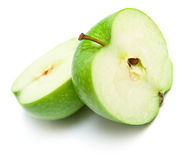 Apples cut on a part 5 Royalty Free Stock Photography