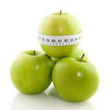 Apples for diet Stock Photography
