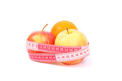Apples for diet Stock Photos