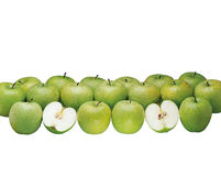 Apples in display Royalty Free Stock Photography