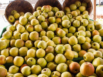 Apples at a farm stand Royalty Free Stock Photography