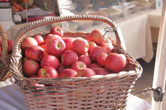 Apples at the farmers market Royalty Free Stock Photography