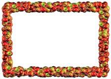 Apples Frame royalty free illustration