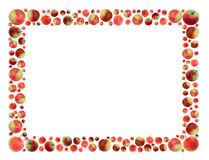 Apples frame Royalty Free Stock Photography