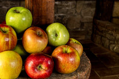 Apples fresh from the farm Royalty Free Stock Image