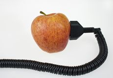 Apples give you energy Stock Photography