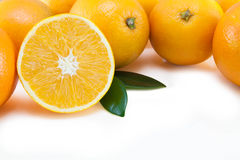 Oranges wallpaper Royalty Free Stock Photos