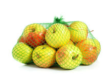 Apples in a grid Stock Photography