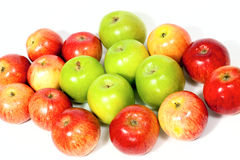 Apples group Stock Photos