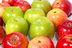 Apples group Royalty Free Stock Photos
