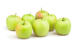 Apples group Stock Photo