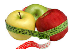 Apples and health Royalty Free Stock Images
