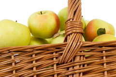 Apples are healthy and help to a long life Stock Photos