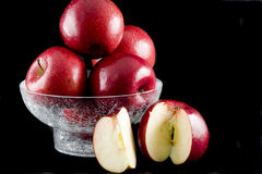 Apples and heath foods diet Stock Image