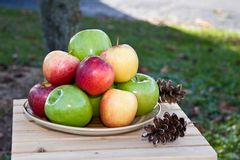 Apples at Home Royalty Free Stock Images