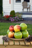 Apples at Home Stock Photos