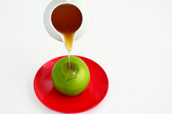 Apples and Honey - Rosh Hashanah Jewish holiday Royalty Free Stock Photography