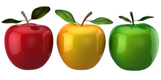 Apples. Individuality concept. (Hi-Res) Stock Photo