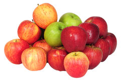 Apples. Isolated Stock Images