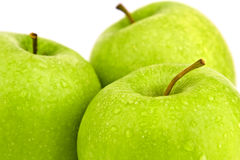 Apples isolated Royalty Free Stock Image