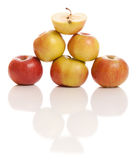 Apples isolated on white Stock Photography