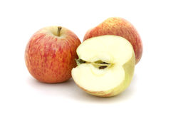 Apples isolated on white Stock Images